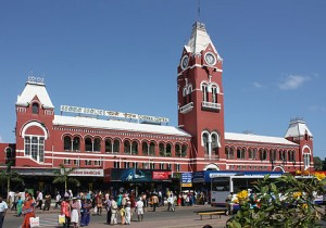 Chennai Airport to Train station transfer service