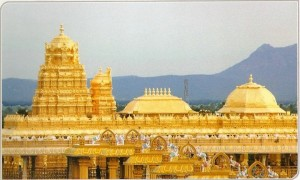 Rent car to visit Vellore Golden Temple from Chennai