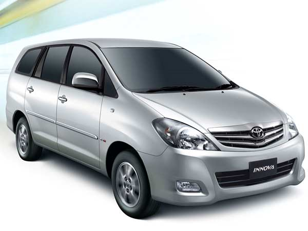 Innova car rental rate in Chennai